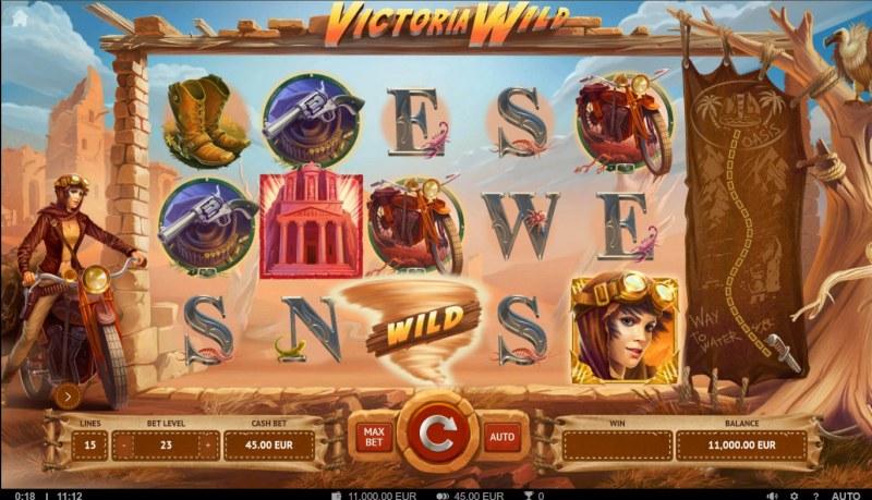 Victoria Wild :: Main Game Board