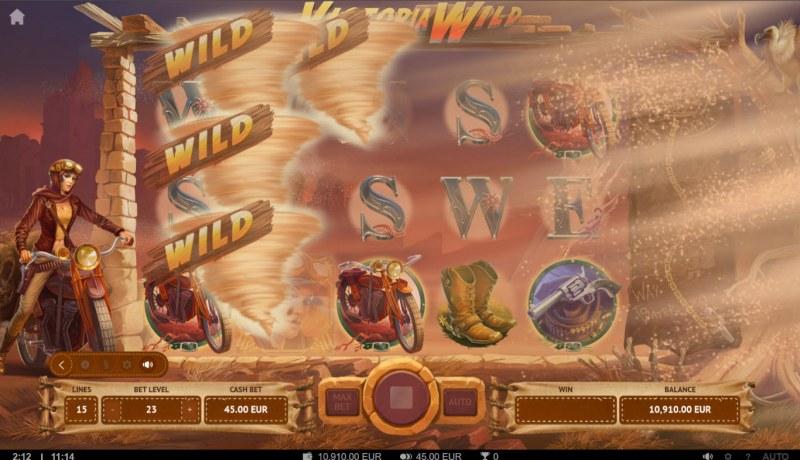 Victoria Wild :: Sandstorm feature triggers randomly