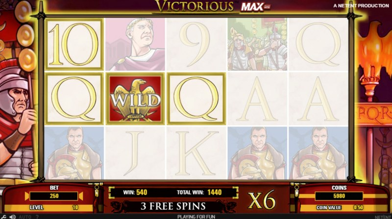 Victorious MAX :: Three of a kind