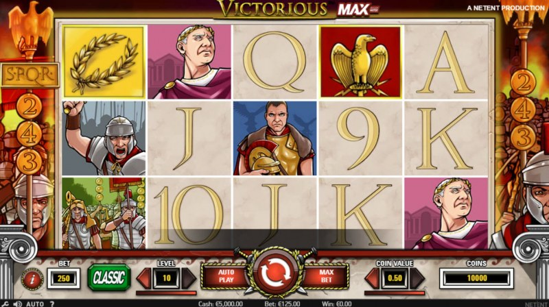 Play slots at Voodoo Dreams: Voodoo Dreams featuring the Video Slots Victorious MAX with a maximum payout of $875,000