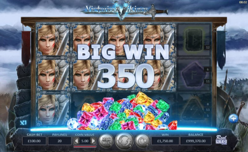 Victorious Vikings :: Big Win