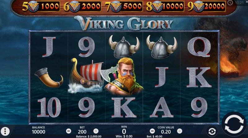 Viking Glory :: Main Game Board