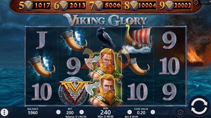 Viking Glory :: Multiple winning paylines