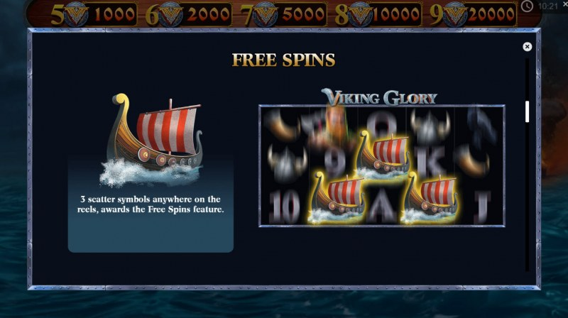 Spiele Viking Glory - Video Slots Online