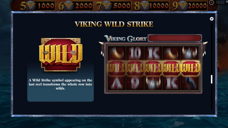 Play slots at Montecryptos: Montecryptos featuring the Video Slots Viking Glory with a maximum payout of $20,000