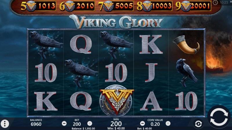 Viking Glory :: Three of a kind