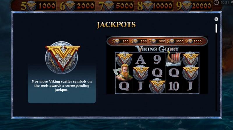 Viking Glory :: Jackpots