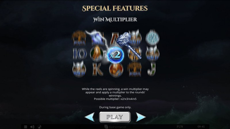 Viking & Gods 2 15 Lines :: Win Multiplier