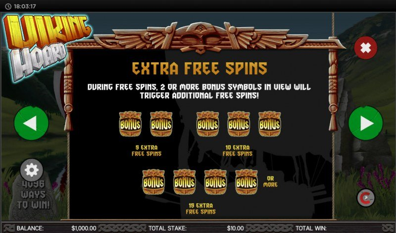 Viking Hoard :: Extra Free Spins