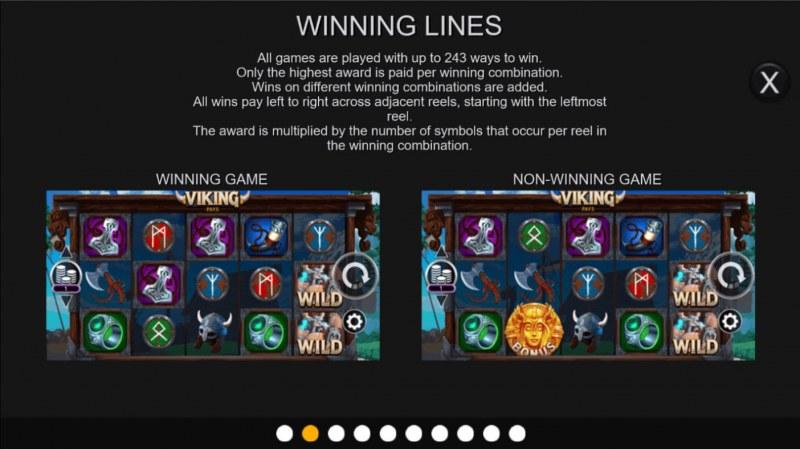 Viking Pays :: Winning Lines