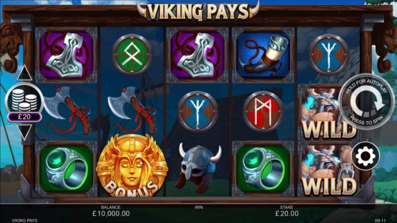 Viking Pays :: Base Game Screen