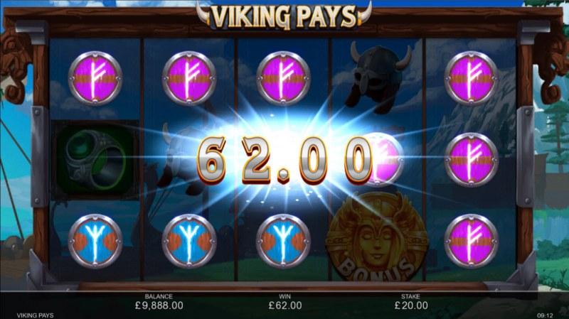 Viking Pays :: Multiple winning paylines