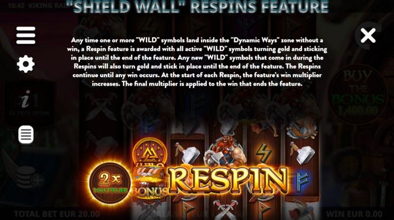 Viking Raid Zone :: Respin Feature