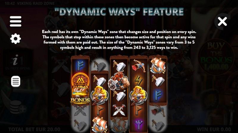 Viking Raid Zone :: Dynamite Ways Feature