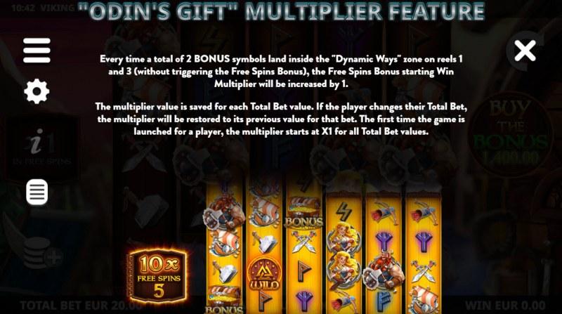 Viking Raid Zone :: Multiplier Feature