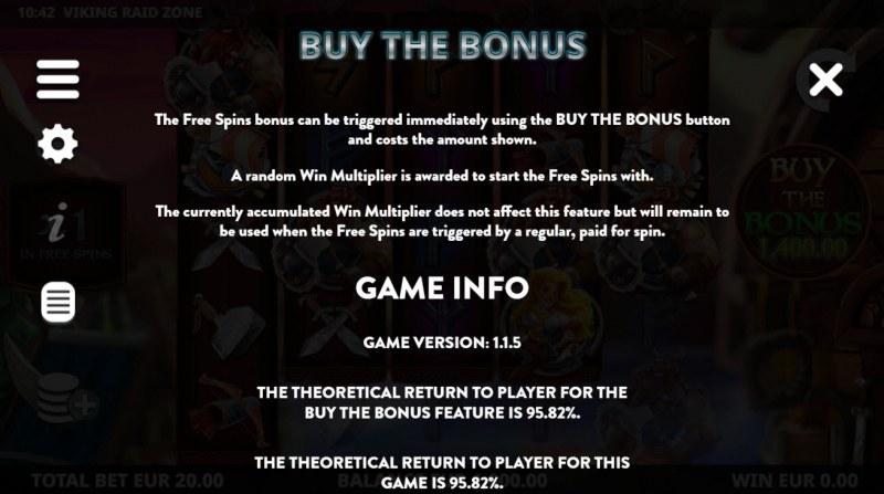 Viking Raid Zone :: Buy Feature