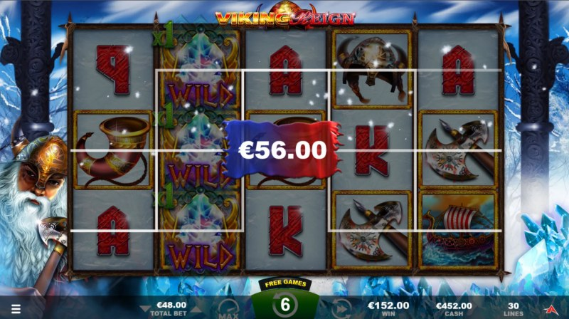 Viking Reign :: Multiple winning paylines