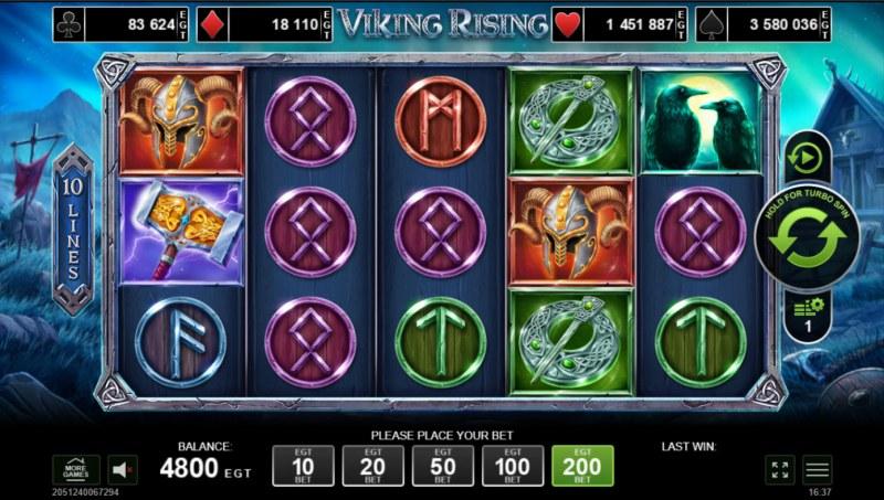 Viking Rising :: Base Game Screen