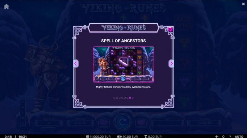 Viking Runes :: Spell of Ancestors