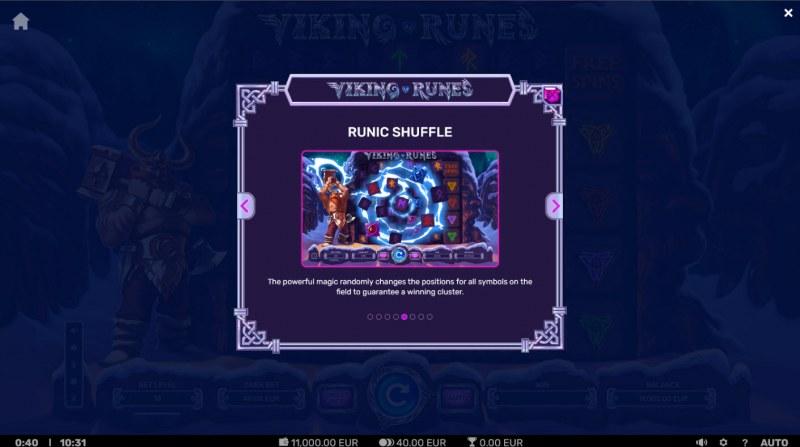 Viking Runes :: Runic Shuffle