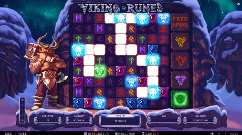 Viking Runes :: Multiple winning combinations