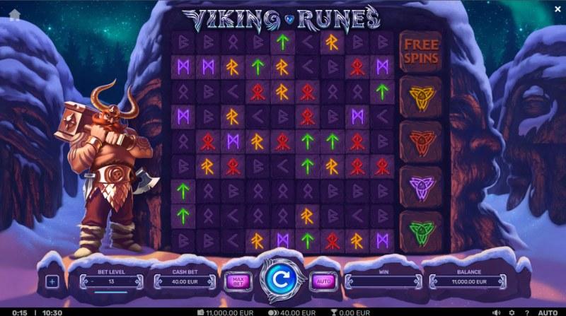 Viking Runes :: Main Game Board