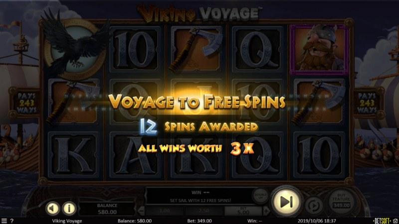 Viking Voyage :: 12 Free Games Awarded