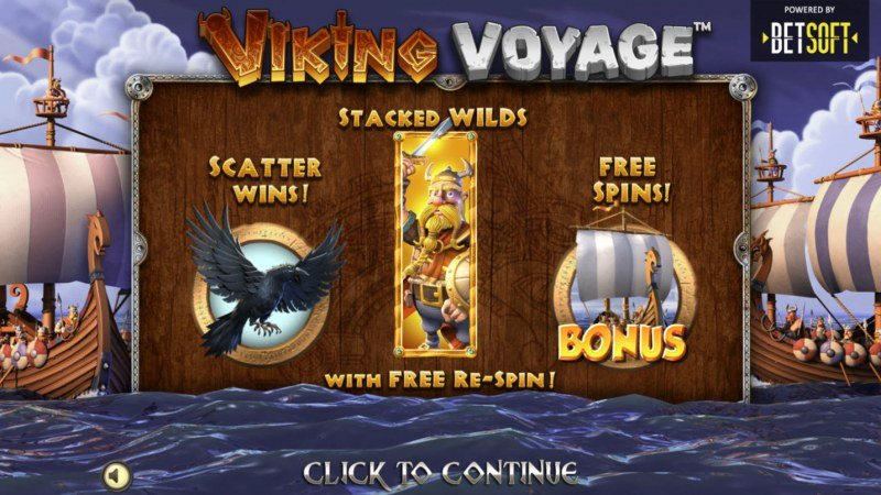 Play slots at Bet it All: Bet it All featuring the Video Slots Viking Voyage with a maximum payout of $1,403,640