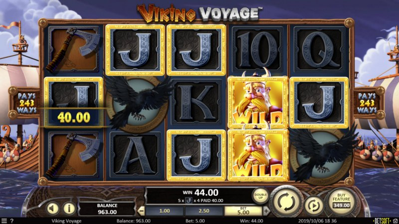 Viking Voyage :: Five of a kind