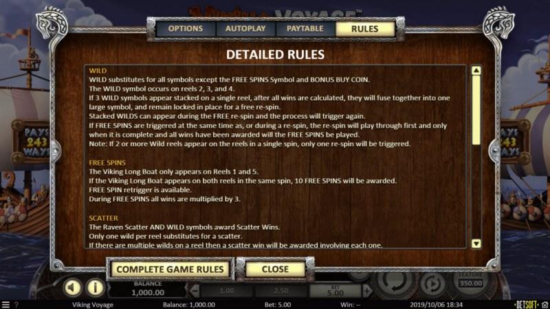 Play slots at Treasure Mile: Treasure Mile featuring the Video Slots Viking Voyage with a maximum payout of $1,403,640