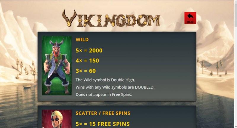 Vikingdom :: Wild Symbols Rules