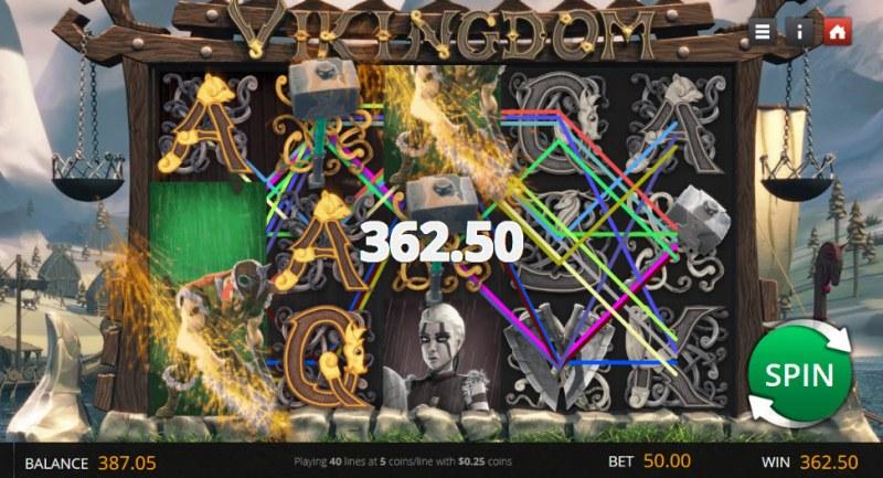Vikingdom :: Multiple winning paylines
