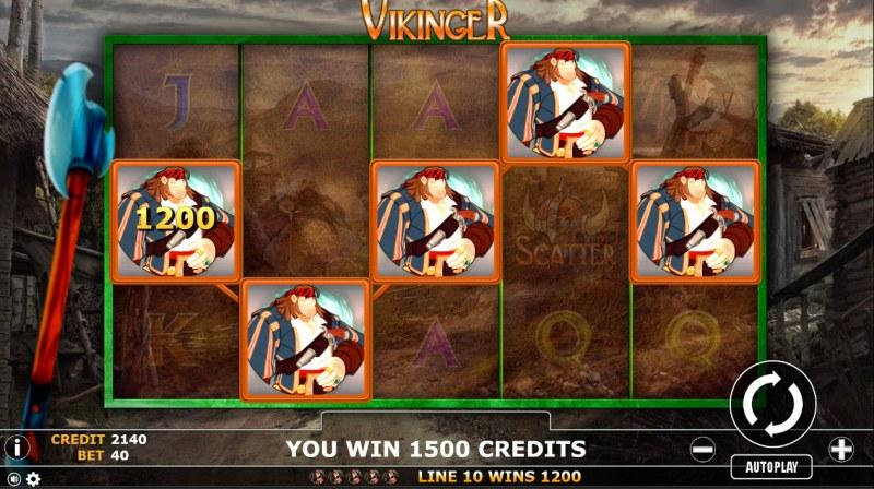 Vikinger :: A winning 5 of a kind