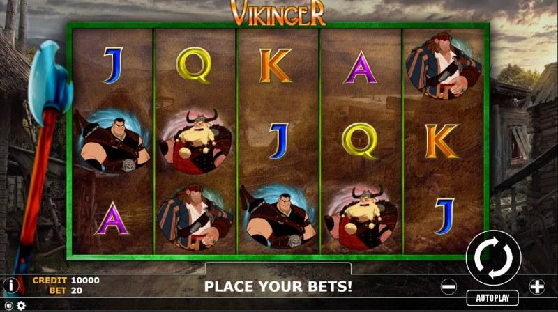 Vikinger :: Main Game Board