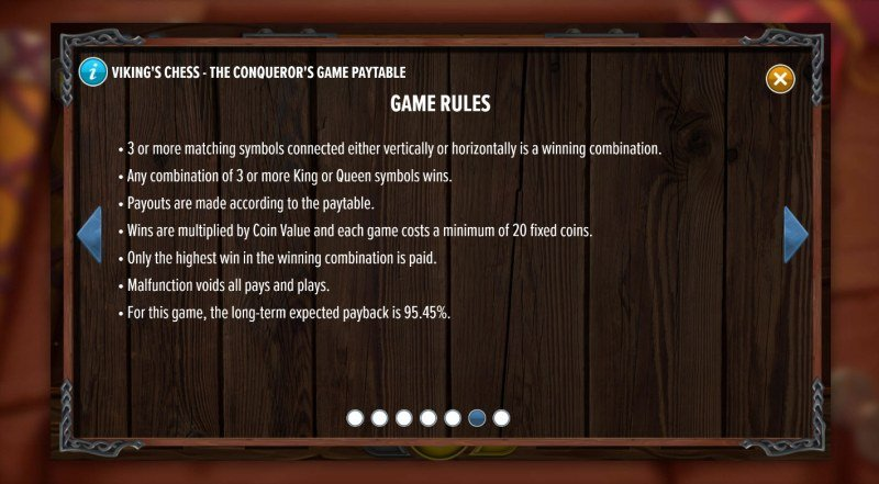 Viking's Chess The Conqueror's Game :: General Game Rules