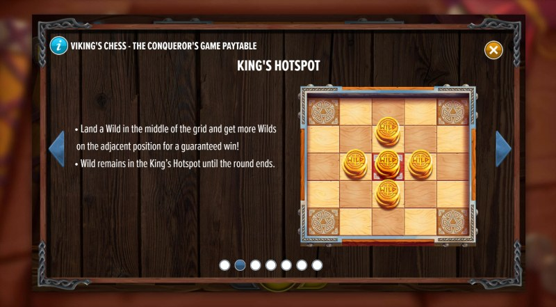 Viking's Chess The Conqueror's Game :: King's Spot