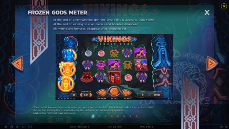 Vikings Frozen Gods :: Frozen Gods Meter