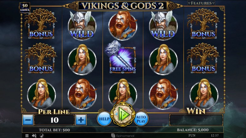 Vikings & God 2 :: Main Game Board