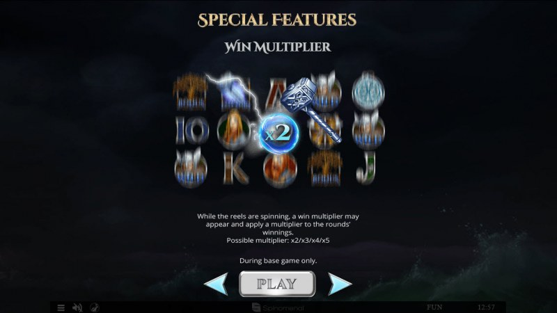 Vikings & God 2 :: Win Multiplier