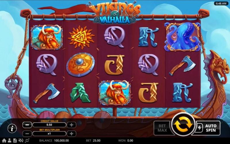 Vikings of Valhalla :: Base Game Screen