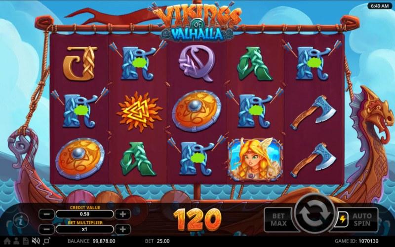 Vikings of Valhalla :: Multiple winning combinations