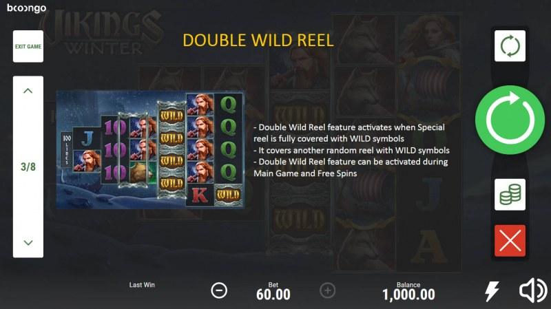 Vikings Winter :: Double Wild Reel