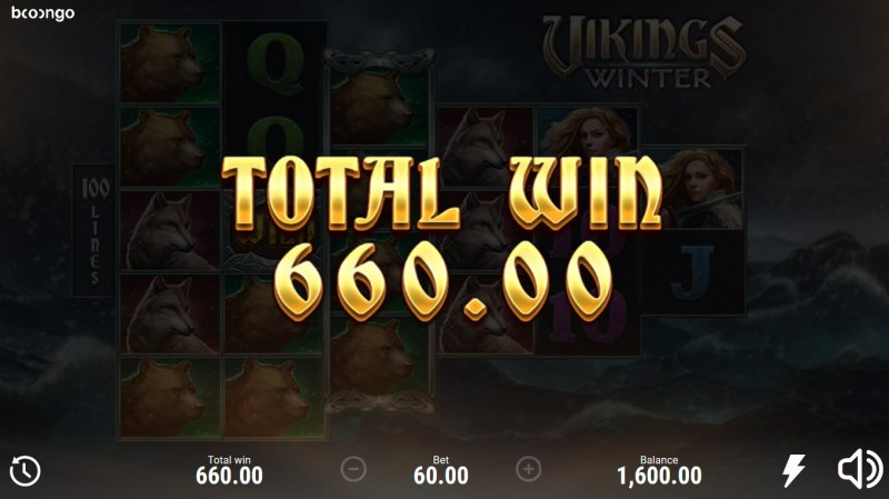 Vikings Winter :: Total Free Spins Payout
