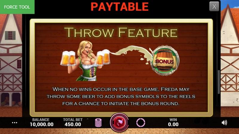 Village Brewery :: Throw Feature