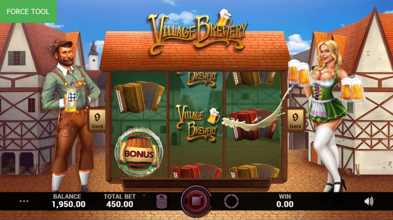 Village Brewery :: Throw feature randomly triggers after any non-winning spin