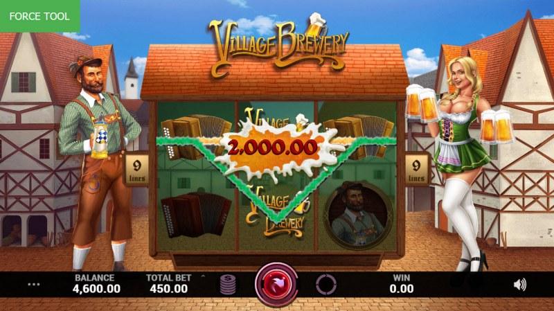 Village Brewery :: Multiple winning paylines