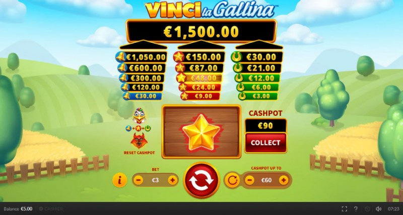 Vinci la Gallina :: Fill the corresponding towers for a chance to winn big