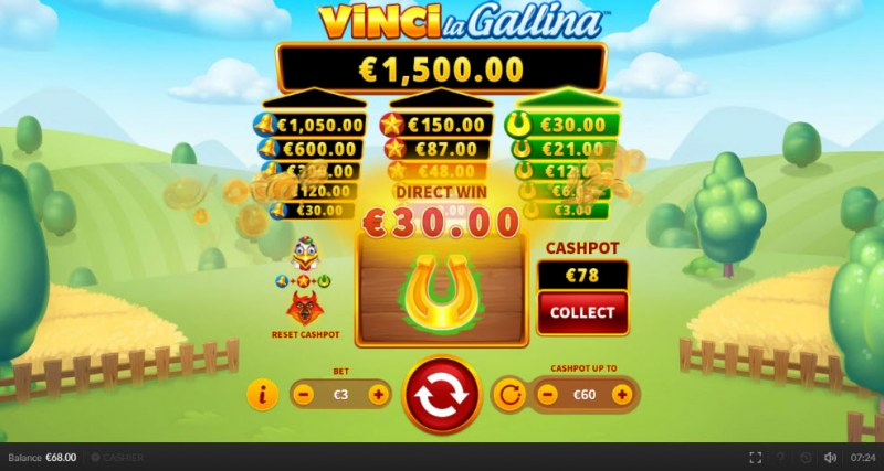 Vinci la Gallina :: Win big once the towers are filled