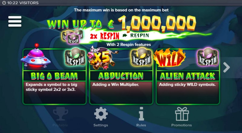 Visitors :: Win Up To $1,000,000
