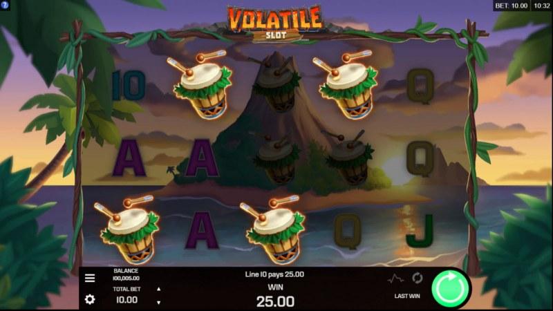 Volatile Slot :: Four of a kind